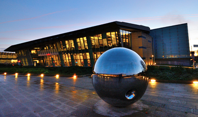 Morgan Building, Wellcome Sanger Institute, genome Campus