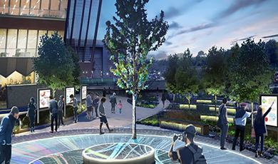 Future plans for Campus Growth, locate here