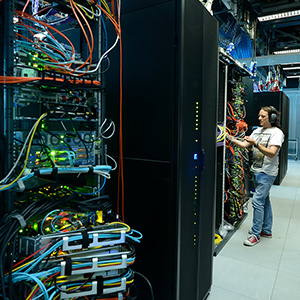 Data Centre at the Sanger Institute Hinxton