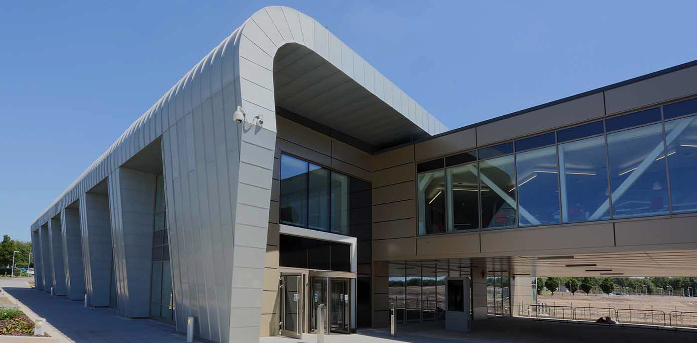 BioData Innovation Centre (BIC) front entrance, Genome Campus locate here, offices to let