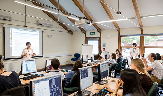 scientific courses and training at the wellcome genome campus