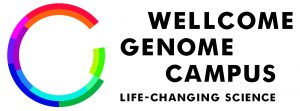 Wellcome Genome Campus logo CMYK with strapline