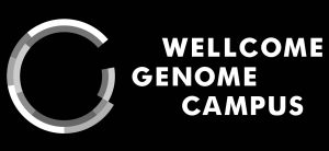 Wellcome Genome Campus logo monotone for overlays